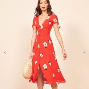Reformation Rosalinda Dress Size 4